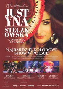 Justyna Steczkowska & Orkiestra Cygańska @ Amfiteatr