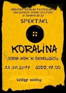 Koralina @ Sala Teatralna | Świnoujście | Województwo zachodniopomorskie | Polska