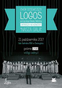 Nasza gala - koncert jubileuszowy Chóru Logos @ Sala Teatralna