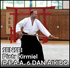 Pokazy aikido z sensei Piotrem Kirmielem @ Sala Sportowa